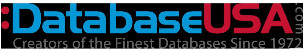 Databaseusa logo, email marketing, database usa, sales leads